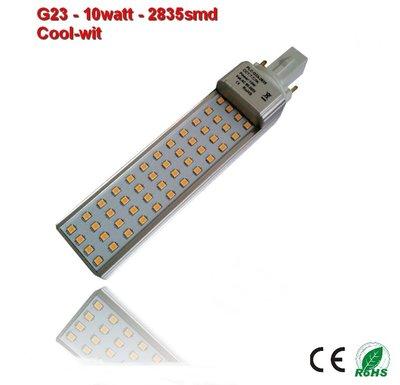 PL-G23-10w-2835smd Cool-Wit 1060 lumen