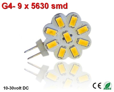 G4 led 9smd 5630 Cool-wit(235 lumen)
