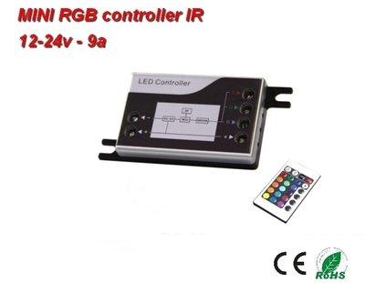 Mini-RGB infrarood-controller + Afstandsbediening
