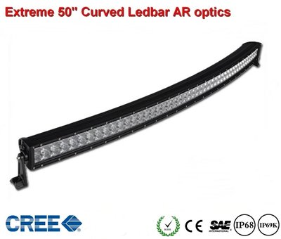 Extreme 50 inch Curved Ledbar 500w AR Optics  48.000 lumen