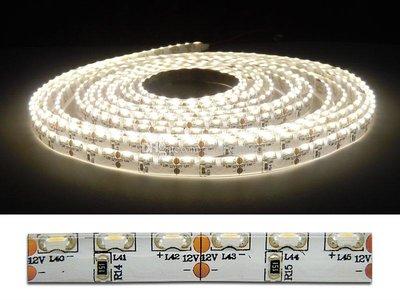 5Meter LEDstrip sidevieuw  600x335smd -IP65 warm-wit