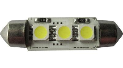2x 12v Canbus buislampjes 36mm 3x5050SMD