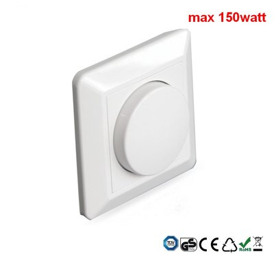 Led-dimmer inbouw 150watt