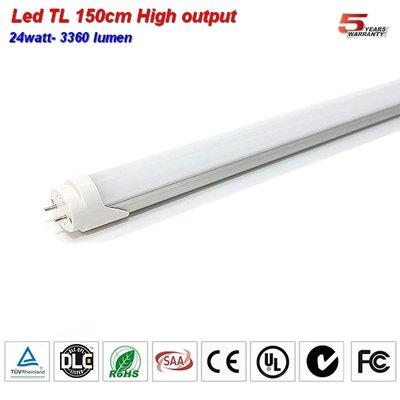 LED TL buis 150cm High lumen 3360lumen 26w Coolwit