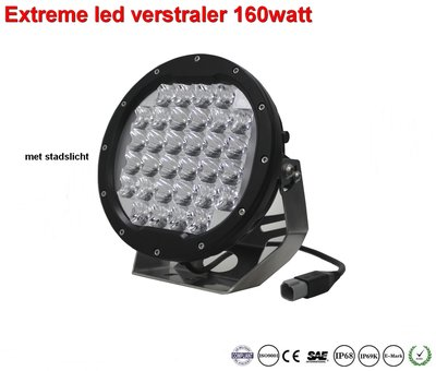 Extreme Led verstraler 160w Combi AR Optics - 14.450 lumen