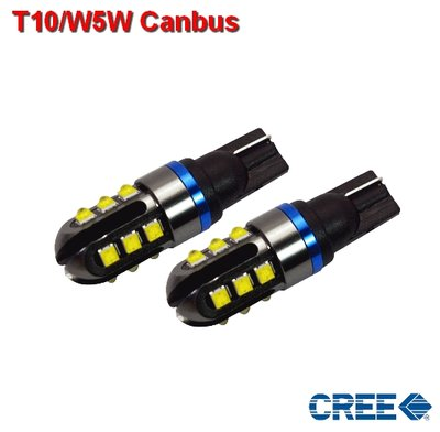 T10/W5W Canbus CREE 620lumen