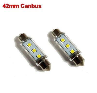 Buislampen 42mm Canbus 3030smd- 210 lumen