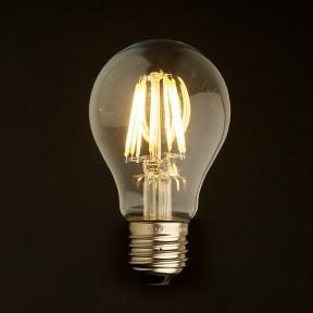 E27 Vintage Led lamp 4w gold-warmwit Dimbaar