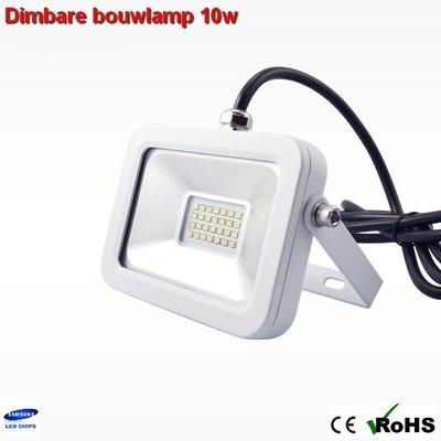 Dimbare led bouwlamp 10w ipad-design Warm-wit