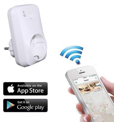 Smart WIFI plug-in stopcontact schakelaar