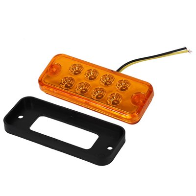 Led contourverlichting 12v 8 led Oranje