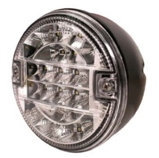 LED Achteruitrijlicht hamburger model 12v/24v E9 keur