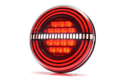 LED Neon mist-achteruitrijlicht hamburger model 12v/24v E20 keur