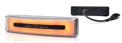 Scania Neon-Led toplicht Oranje E-keur