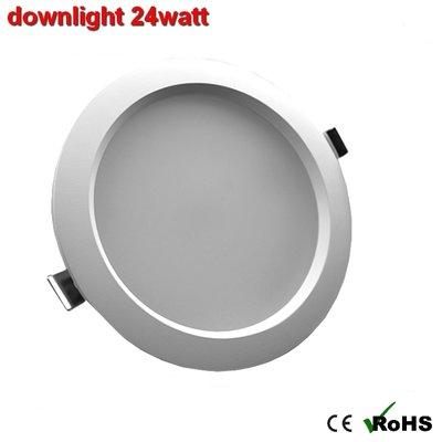 downlight 24w Warm-wit - AC-led Dimbaar