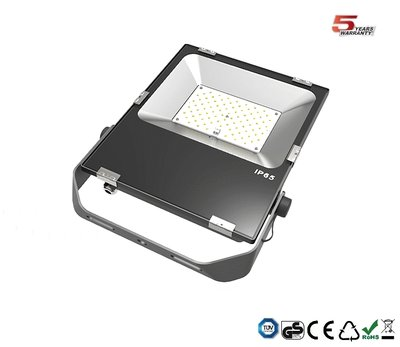 60w dimbare bouwlamp HO serie 7.800 lumen Cool-wit