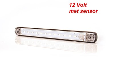 LED interieur-binnenverlichting 12Volt 24cm E-keur 320lumen Ip68 met sensor