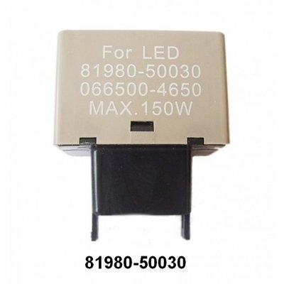 LED Relais 81980-50030 voor led knipper lichten