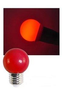 E27 Party ledlamp 1,5 watt Rood Mini IP65
