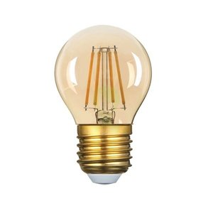 E27 Vintage G45 Led lamp 3,5w Gold-warmwit