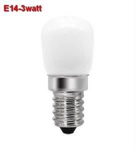 E14 Mini LED lamp 3w Warmwit koelkastlampje