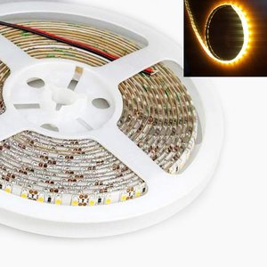 5Meter LEDstrip Gold Warm-wit 600x 2835smd 96watt -IP65 -14400 lumen