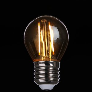 E27 Vintage Led lamp 2w Gold-warmwit