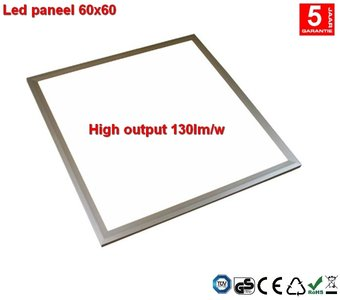 LED paneel 60x60 40watt 5200lumen 6000k Dimbaar