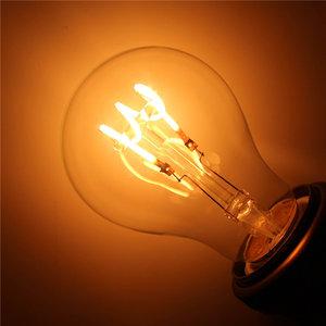 E27 Spiraal Vintage Led lamp 3w Gold-warmwit Dimbaar