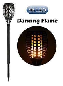LED Tuinfakkel dance flame 96led - Uniek !