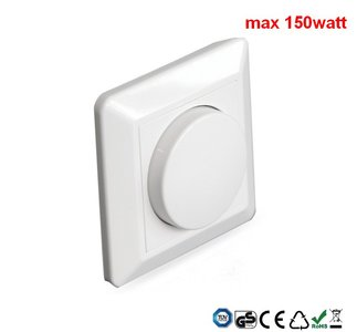led dimmer inbouw 150watt
