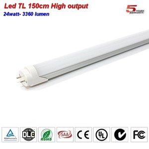 LED TL buis 150cm High lumen 3360lumen 24w Coolwit
