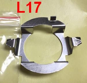 2 stuks H7 Adapters voor  mercedes, opel, Vw Skoda