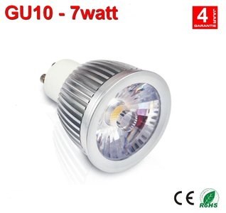 GU10 dimbare ledspot 7w Warm-wit - AC-led