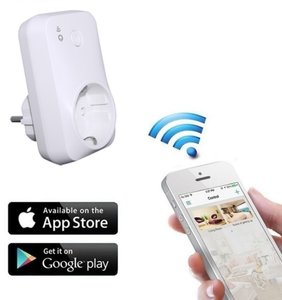 Smart WIFI plug-in stopcontact schakelaar
