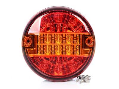 LED Achterlicht hamburger model 12v/24v E9 SAE keur