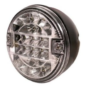 LED Achteruitrijlicht hamburger model 12v/24v E9 keur