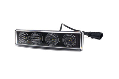 Scania Led toplicht 4led-wit  E-keur