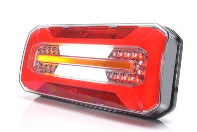 LED full-neon look Achterlicht dynamisch 12v/24v E-keur