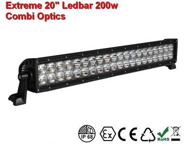 Extreme 20 inch ledbar 200w Combi AR Optics - 18.000 Lumen