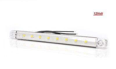 LED interieur-binnenverlichting 12Volt 24cm 200 lumen E-keur Ip68