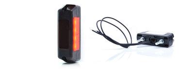 LED Neon breedtelamp rood-wit met E-keur