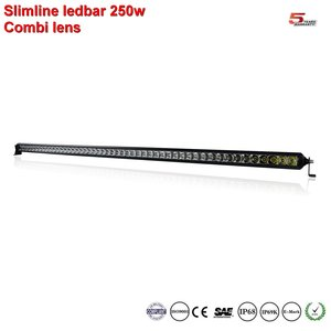 Extreme Slimline single-row ledbar 50inch 250w 24.900 lumen
