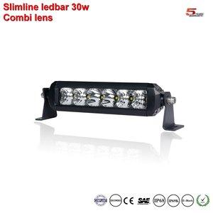 Extreme Slimline single-row ledbar 6inch 30w 2.900 lumen